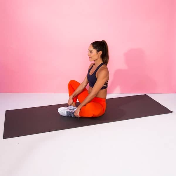 Butterfly Stretch for hip pain